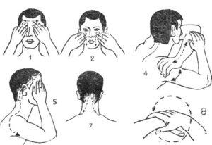 Самомассаж для устранения головной боли