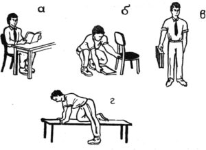 Меры профилактики остеохондроза в быту