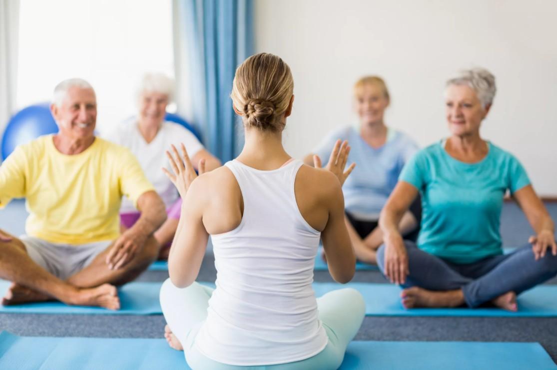 Йога для профилактики и лечения остеохондроза