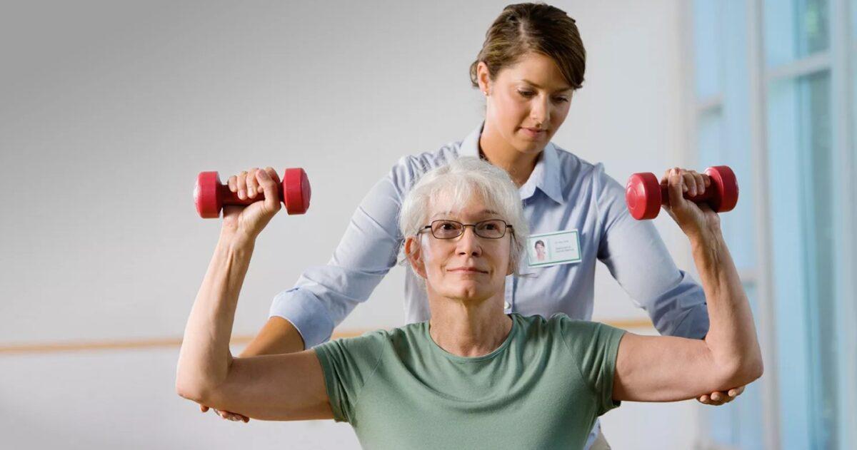 Лечение остеохондроза с помощью силовых упражнений