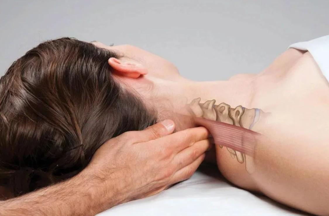 Точечный массаж при остеохондрозе шейного отдела позвоночника