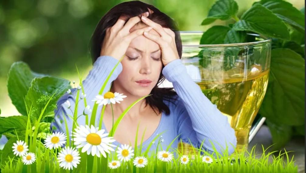 Народные средства при головной боли